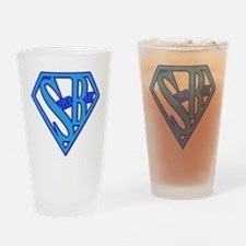 SUPER BABY Drinking Glass