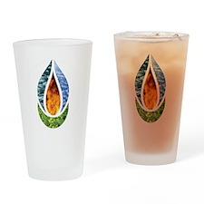 7x7ChaliceWordsDark Drinking Glass