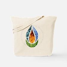 7x7ChaliceWordsDark Tote Bag