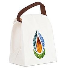 7x7ChaliceWordsDark Canvas Lunch Bag