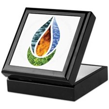 7x7ChaliceWordsDark Keepsake Box