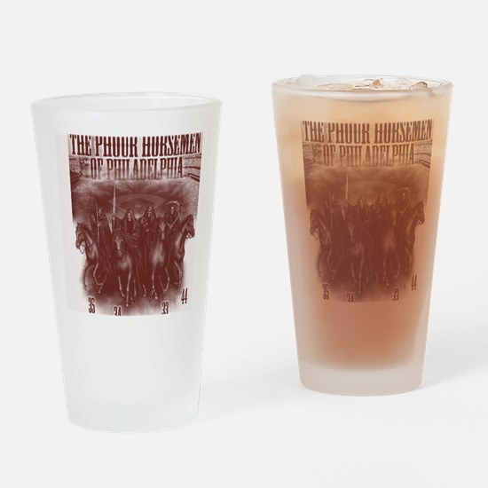 phour3red Drinking Glass