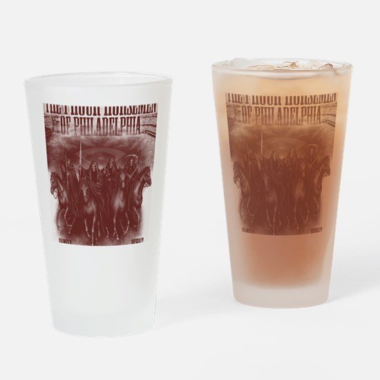phour2red Drinking Glass