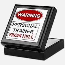 WARNING PERSONAL TRAINER Keepsake Box
