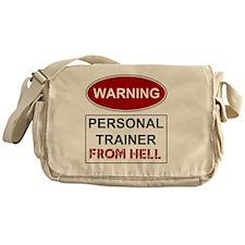 WARNING PERSONAL TRAINER Messenger Bag