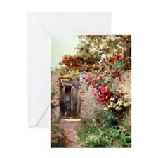 Near_Taormina_Italy_1918_iPad_anon Greeting Card