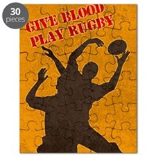 rugby player catching lineout ball Puzzle