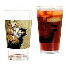 Henriette_Ronner_Knip_A Proud Mothe Drinking Glass