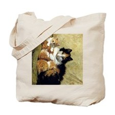 Henriette_Ronner_Knip_A Proud Mother_78_i Tote Bag