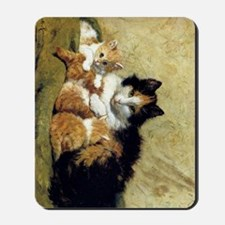 Henriette_Ronner_Knip_A Proud Mother_78_ Mousepad