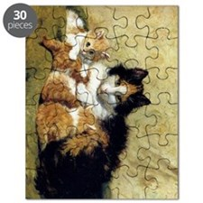 Henriette_Ronner_Knip_A Proud Mother_78_iPa Puzzle