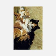 Henriette_Ronner_Knip_A Proud Mot Rectangle Magnet