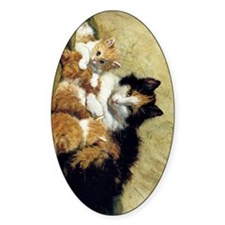 Henriette_Ronner_Knip_A Proud Mothe Decal