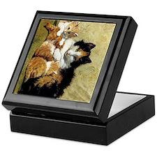 Henriette_Ronner_Knip_A Proud Mother_ Keepsake Box