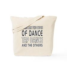 Tap danceDance Designs Tote Bag