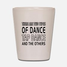 Tap danceDance Designs Shot Glass