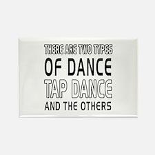 Tap danceDance Designs Rectangle Magnet (10 pack)
