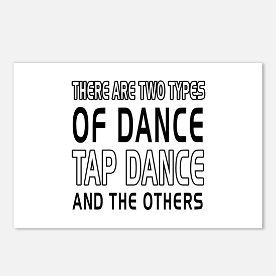 Tap danceDance Designs Postcards (Package of 8)