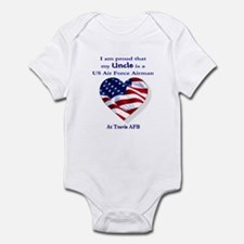 Uncle... Travis AFB Infant Bodysuit