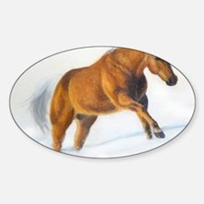 Running palomino Decal