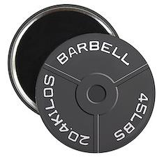 Clock Barbell45lb Magnet