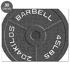 Clock Barbell45lb Puzzle