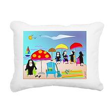 ocean scene NUNS COMPLET Rectangular Canvas Pillow