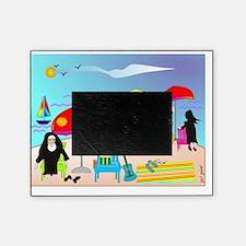 ocean scene NUNS COMPLETE Picture Frame