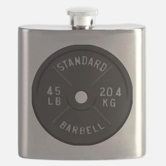 clock barbell45lb2 Flask