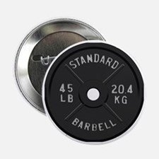 "clock barbell45lb2 2.25"" Button"