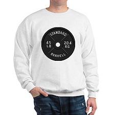 clock barbell45lb2 Sweater
