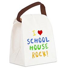 schoolhouserockwh Canvas Lunch Bag