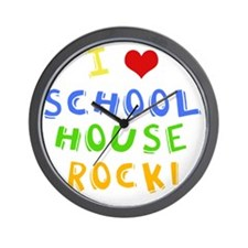 schoolhouserockwh Wall Clock