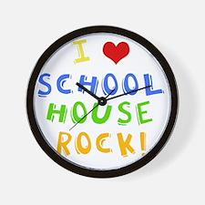 schoolhouserockwh Wall Clock