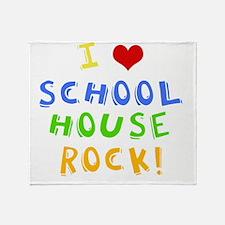 schoolhouserockwh Throw Blanket