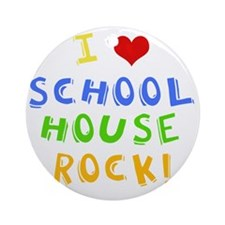 schoolhouserockwh Round Ornament