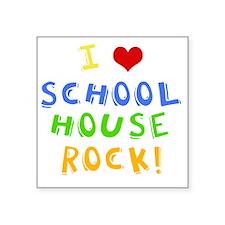 "schoolhouserockwh Square Sticker 3"" x 3"""