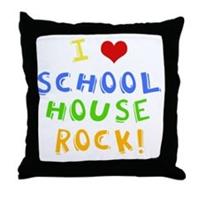 schoolhouserockwh Throw Pillow