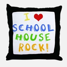 schoolhouserockwh Throw Pillow