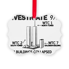 INVESTIGATE 911 Ornament