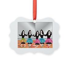 Nun Ballerinas 5 Ornament