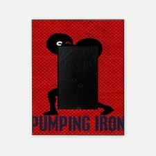 pumping_iron_12by14_red Picture Frame