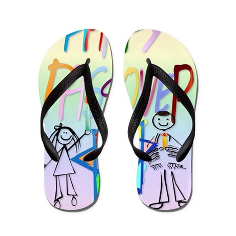 LargePoster A Very Colorful Passover Flip Flops