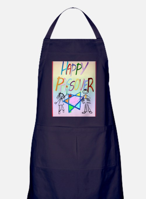 LargePoster A Very Colorful Passover Apron (dark)