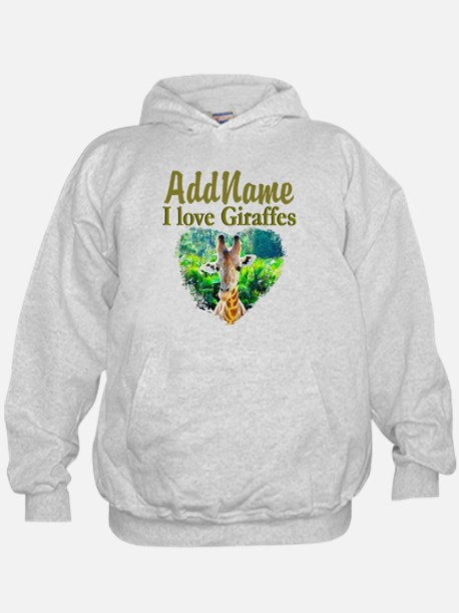 LOVE GIRAFFES Hoody