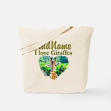 LOVE GIRAFFES Tote Bag
