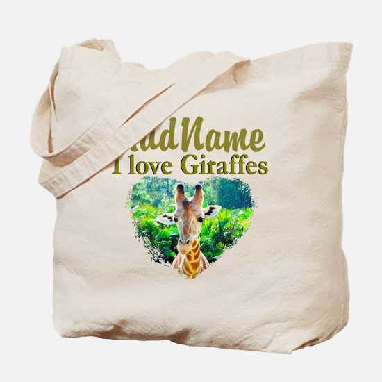 LOVE GIRAFFES Tote Bag