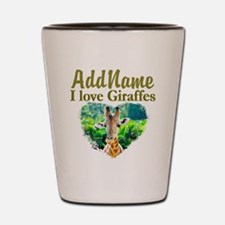 LOVE GIRAFFES Shot Glass