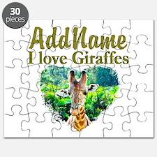 LOVE GIRAFFES Puzzle