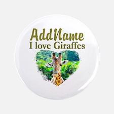 """LOVE GIRAFFES 3.5"""" Button (100 pack)"""